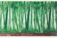 """Town Forest 12"""" x 24"""""""