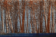 """Brown Forest 12"""" x 24"""""""