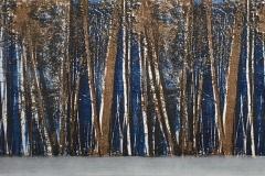 "Moonlit Forest 12"" x 24"""