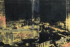 """Above All the Lights  8""""x20"""""""