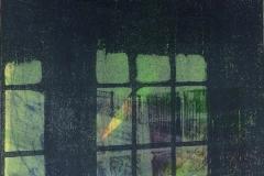 "Window Reflections 8""x8"" (2015)"